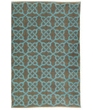 RugStudio presents Safavieh Thom Filicia Tmf121b Spray / Blue Flat-Woven Area Rug