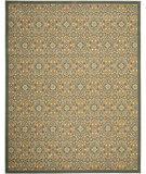 RugStudio presents Safavieh Treasures TRE217-6520 Blue / Gold Machine Woven, Good Quality Area Rug