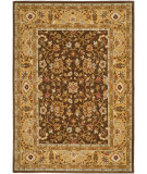 RugStudio presents Safavieh Tuscany TUS305-2520 Brown / Gold Machine Woven, Best Quality Area Rug