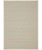 RugStudio presents Safavieh Veranda Ver003-213 Cream / Aqua Machine Woven, Good Quality Area Rug