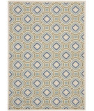 RugStudio presents Safavieh Veranda Ver089-614 Cream / Green Machine Woven, Good Quality Area Rug