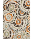 RugStudio presents Safavieh Veranda Ver091-712 Cream / Chocolate Machine Woven, Good Quality Area Rug
