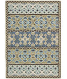 RugStudio presents Safavieh Veranda Ver093-642 Green / Blue Machine Woven, Good Quality Area Rug