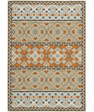RugStudio presents Safavieh Veranda Ver093-742 Green / Terracotta Machine Woven, Good Quality Area Rug