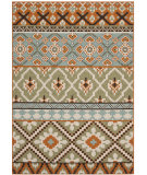 RugStudio presents Safavieh Veranda Ver097-745 Green / Terracotta Machine Woven, Good Quality Area Rug