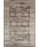 RugStudio presents Safavieh Vintage Vtg431b Brown / Ivory Machine Woven, Better Quality Area Rug