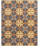 RugStudio presents Safavieh Wyndham WYD320A Blue / Gold Hand-Tufted, Good Quality Area Rug