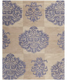 RugStudio presents Rugstudio Sample Sale 80914R Beige / Lavander Hand-Tufted, Good Quality Area Rug
