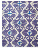 RugStudio presents Safavieh Wyndham WYD323A Lavander / Ivory Hand-Tufted, Good Quality Area Rug