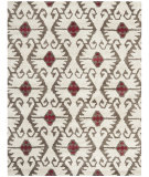 RugStudio presents Safavieh Wyndham WYD323B Ivory / Brown Hand-Tufted, Good Quality Area Rug