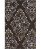 RugStudio presents Safavieh Wyndham Wyd372b Brown / Ivory Hand-Tufted, Better Quality Area Rug