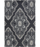 RugStudio presents Safavieh Wyndham Wyd372c Dark Grey / Ivory Hand-Tufted, Better Quality Area Rug