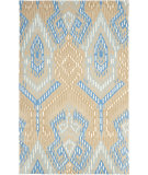 RugStudio presents Safavieh Wyndham Wyd373b Beige / Blue Hand-Tufted, Better Quality Area Rug