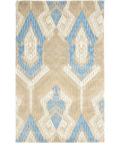RugStudio presents Rugstudio Sample Sale 66419R Blue / Ivory Hand-Tufted, Better Quality Area Rug