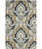 RugStudio presents Safavieh Wyndham Wyd374a Blue / Multi Hand-Tufted, Better Quality Area Rug
