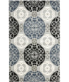 RugStudio presents Safavieh Wyndham Wyd376d Grey / Black Hand-Tufted, Better Quality Area Rug