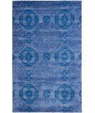 RugStudio presents Rugstudio Sample Sale 66417R Blue Hand-Tufted, Better Quality Area Rug