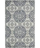 RugStudio presents Safavieh Wyndham Wyd376g Silver Hand-Tufted, Better Quality Area Rug