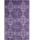 RugStudio presents Safavieh Wyndham Wyd376j Purple Hand-Tufted, Better Quality Area Rug