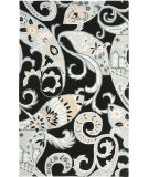 RugStudio presents Safavieh Wyndham Wyd377a Black / Multi Hand-Tufted, Better Quality Area Rug