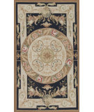 RugStudio presents Samad Aubusson 112969 Flat-Woven Area Rug