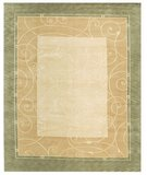 RugStudio presents Samad Presidential Arthur Gold Hand-Knotted, Good Quality Area Rug