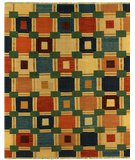 RugStudio presents Samad Sunrise Aspen Flat-Woven Area Rug