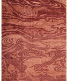 RugStudio presents Samad Plateau Azure Clouds Copper Hand-Knotted, Good Quality Area Rug