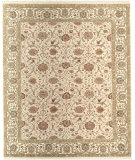 RugStudio presents Samad Cote D'Azur Beau Rivage beige/ivory Hand-Knotted, Best Quality Area Rug