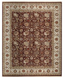 RugStudio presents Samad Cote D'Azur Beaulieu cocoa/ivory Hand-Knotted, Best Quality Area Rug