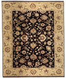 RugStudio presents Samad Sovereign Catherine black/gold Hand-Knotted, Best Quality Area Rug