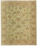 RugStudio presents Samad Sovereign Catherine Fern/Gold Hand-Knotted, Best Quality Area Rug
