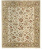 RugStudio presents Samad Sovereign Catherine ivory/fern Hand-Knotted, Best Quality Area Rug