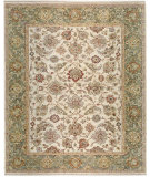 RugStudio presents Samad Sovereign Catherine ivory/spruce Hand-Knotted, Best Quality Area Rug