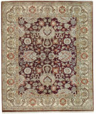 RugStudio presents Samad Sovereign Charlemagne Chocolate/Ivory Hand-Knotted, Best Quality Area Rug