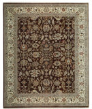 RugStudio presents Samad Sovereign Constantine Chocolate/Cream Hand-Knotted, Best Quality Area Rug