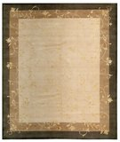 RugStudio presents Samad Presidential Coolidge Beige Hand-Knotted, Good Quality Area Rug