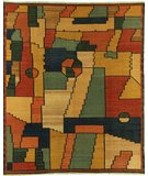 RugStudio presents Samad Sunrise Crossroads Flat-Woven Area Rug