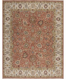 RugStudio presents Samad Sovereign Cyrus Clay/Ivory Hand-Knotted, Best Quality Area Rug