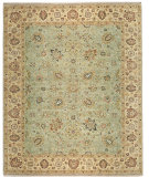 RugStudio presents Samad Sovereign Cyrus Seafoam/Sand Hand-Knotted, Best Quality Area Rug