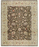 RugStudio presents Samad Sovereign Elizabeth Olive/Gold Hand-Knotted, Best Quality Area Rug