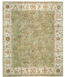 RugStudio presents Samad Sovereign Empress sage/ivory Hand-Knotted, Best Quality Area Rug