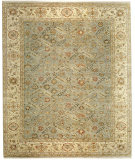 RugStudio presents Samad Sovereign Empress seafoam/light gold Hand-Knotted, Best Quality Area Rug