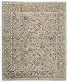 RugStudio presents Samad Sovereign Empress Sterling/Pewter Hand-Knotted, Best Quality Area Rug