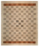 RugStudio presents Samad Presidential Hamlin Coffee Hand-Knotted, Good Quality Area Rug