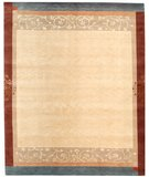RugStudio presents Samad Presidential Harding Wheat Hand-Knotted, Good Quality Area Rug