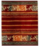 RugStudio presents Samad Presidential Hoover Red Hand-Knotted, Good Quality Area Rug