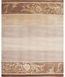 RugStudio presents Samad Presidential Jefferson Taupe Hand-Knotted, Good Quality Area Rug