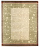 RugStudio presents Samad Presidential Johnson Beige Hand-Knotted, Good Quality Area Rug