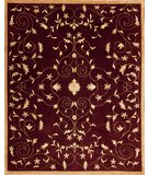 RugStudio presents Samad Presidential Marshall Merlot Hand-Knotted, Good Quality Area Rug